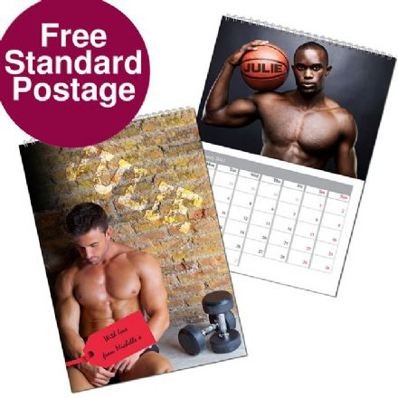 Personalised Calendar - Hot Hunks